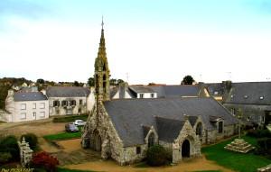 l'église de Gourlizon